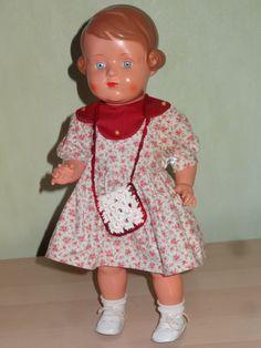 Schildkröt Puppe Dirndl 46 REP Nr. 0271 und Schuhen in top Zustand | eBay
