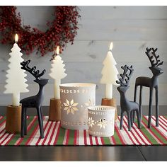 Nordic Candle Holder in Candle Holders | Crate and Barrel