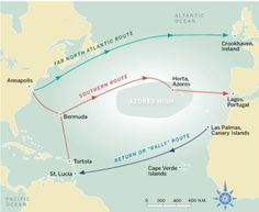 How to Complete an Atlantic Circuit in One Year | Sail Magazine - Your Source for Sailboats and Sailing Adventures
