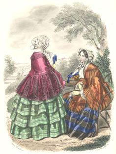 Het Toilet  Tijdschrift voor vrouwelijke handwerken. bewerkt door het Bureau du Follet, te Parijs  September 1852  Anaïs Toudouze