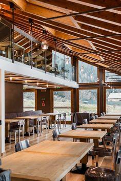 Nira Montana, Restaurant & SPa, La Thuile (AO) - HI LITE Next #lighting #design #fixtures #sospensione #album patata radiale vetro, #album ghiacciolo radiale