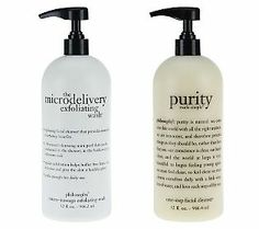 Pamper Mom with philosophy super size purity made simple & micro- delivery wash #GiftsforMom