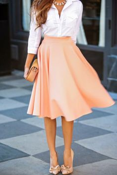 love this colour and the shoes!!!