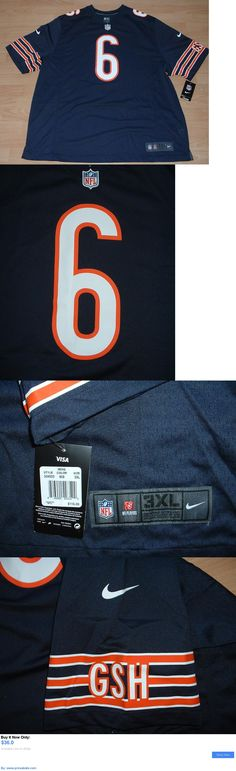 Sports Memorabilia: Nike Chicago Bears Jay Cutler #6 Home Football Jersey Size Mens 3Xl BUY IT NOW ONLY: $36.0 #priceabateSportsMemorabilia OR #priceabate