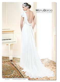 ¿Te imaginas llevando estilo #griego el día de tu boda? #novias #byManuGarcia