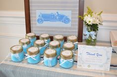 Decor Dearly: Vintage Cars in a Pottery Barn Garden Themed Baby Shower