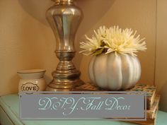 Pretty, cheap, and easy D.I.Y. Fall decor!