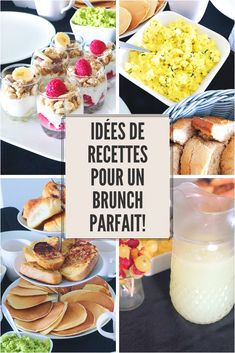Le guide pratique pour préparer un brunch complet ! (Recettes sucrées et salées) Menu Brunch, Brunch Buffet, Sunday Brunch, Brunch Recipes, Breakfast Recipes, Snack Recipes, Breakfast Bagel, Breakfast Ideas, Christmas Brunch