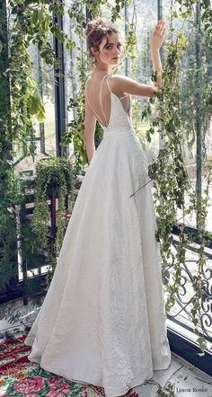 794045a113a limor rosen 2019 xo bridal sleeveless with strap deep v neck light  embellishment romantic a line