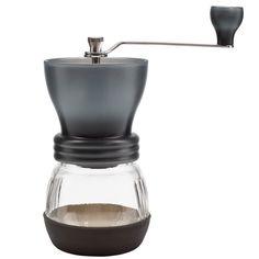 Hario Skerton grinder for coffee beans.