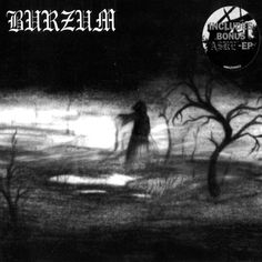 This is the self titled cover by Burzum. Black Metal typography is typically hand drawn. There have been bands that have hired graphic designers, although it is frowned upon.