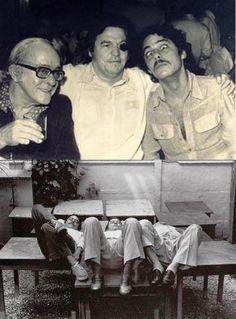 Chico Buarque, Tom Jobim e Vinicius de Moraes #MPB #BossaNova #Brasil