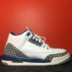 Air Jordan Retro 3 True Blue Retro 3 True Blue de9f60ca4