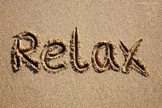 Remind yourself to simply relax. Even when we don't realize it, our minds are thinking of too many things that stress our bodies. Make this your mantra: Right now, I will relax. Frases Relax, Relax Quotes, Relaxation Quotes, Tgif Quotes, Mind Relaxation, Relaxation Meditation, Ways To Relax, Just Relax, Relax Relax