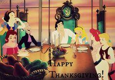 Royalty enjoining thanksgiving!