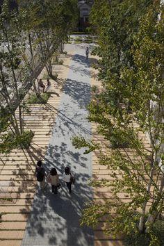 Works / Tokyo Denki University Tokyo Senju Campus - on-site planning and design office