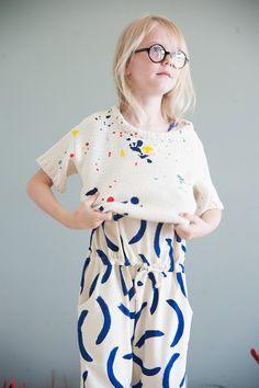 Bobo Co'lab - A Modern, Fun, Creative Collaboration - Petit & Small - kids fashion - Kids Fashion Kids, Little Kid Fashion, Girl Fashion, Jupe Short, Indigo Children, Kids Prints, Kid Styles, Forever Young, Look Chic