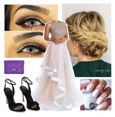 prom junior year by jaceylea on Polyvore featuring polyvore, moda, style and Terani