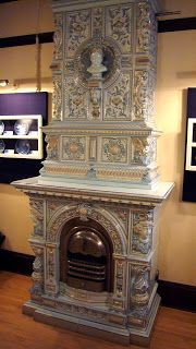 Kakelugnar - Swedish Porcelain Tile Stoves  Recently I visited the American Swedish Institute in Minneapolis, which is located in a French Chateauesque-style building known as the Turnblad Mansion. Built during the first decade of the 20th century, the mansion was home to Swan and Christina Turnblad