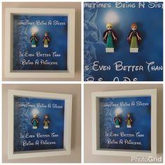 Frozen Sister Minifigure Frame