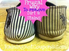 Frugal Way to Remove Stains!