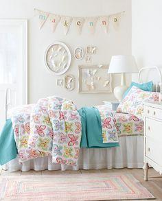 Delayna's Room -- Just the comforter set -- Butterflies Bedroom Collection by Garnet Hill --
