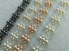 Vintage Charm  Swarovski Pearl and Crystal by TapestryBeadwork,