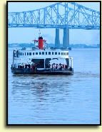 New Orleans: Canal Street Ferry to Algiers Point; it's free!