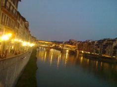 Golden lights,lungarno