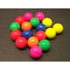 Neon Bouncy Balls | 12ct