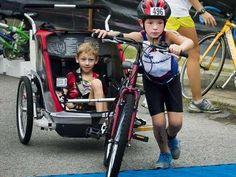 Cayden & Conner Long in the New England Kids Triathlon (© Team Long Brothers via Facebook, http://aka.ms/teamlong)