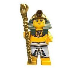 LEGO Minifigure Collection Series 2 LOOSE Mini Figure Egyptian Pharaoh