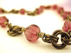 Chain Mail Bracelet Idea