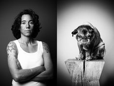 Your Pet and You is an ongoing series by Hamburg, Germany-based photographer Tobias Lang that juxtaposes pictures of people with portraits of their precious pets.