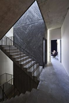 Stairs - industrial chic style