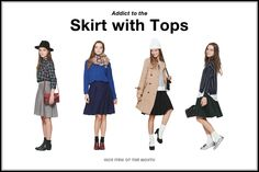 Skirt with Tops | HOME|[公式]グローバルワーク(GLOBAL WORK)WEB STORE/ カジュアルブランド/直営通販サイト
