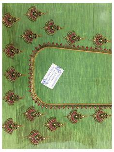 Cutwork Blouse Designs, Wedding Saree Blouse Designs, Simple Blouse Designs, Embroidery Neck Designs, Stylish Blouse Design, Sari Design, Maggam Work Designs, Hand Work Blouse Design, Designer Blouse Patterns