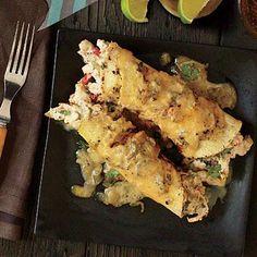 Chicken Enchiladas | CookingLight.com