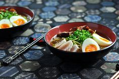 Quick Tofu Ramen Noodle Soup (Recipe)
