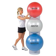 Stability Ball Storage Stackers Set of 3