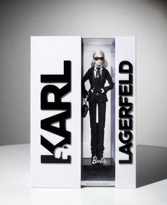 The Dieline Awards 2015: 3rd Place Games, Toys, Sports, Recreational- Karl Lagerfeld Barbie® Doll — The Dieline - Package Design Resource