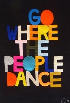 Dancing people are happy people :) #music #dance