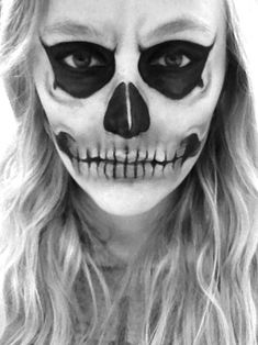 I did my makeup for the American Horror Story premiere tonight.