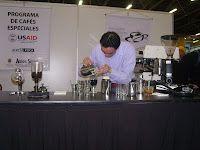 Nicolas Rico campeón! En el Campeonato Nacional de Cafés y Espirituosos, 2011
