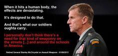 McChrystal on Assault Weapons