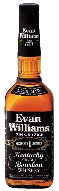Evan Williams Black Label: On my quest to find good, inexpensive whisky, I just found this contender. It has a pleasant flavor to it, with just a hint of vanilla. I wish I could describe it adequately, but I'm still developing a palate. This is easy to sip and enjoy, though its smell isn't very good. This is an excellent value. $10.