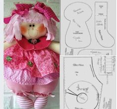 PDF cloth doll pattern Tutorial doll is 27 cm / 10 in Doll body Cloth Doll Pattern PDF Sewing Tutorial Soft Doll Pattern DIY pdf pattern Doll Sewing Patterns, Sewing Dolls, Doll Clothes Patterns, Chicken Quilt, Homemade Dolls, Clay Baby, Soft Dolls, Doll Crafts, Fabric Dolls