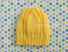 Knitting For Kids, Baby Knitting, Crochet Baby, Knit Crochet, Sick Kids, Bandeau, Baby Hats, Beret, Knitted Hats