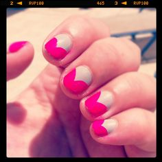 Fishtail Nails: Model's Own Concrete Mixer and a Colour Club pink Neon