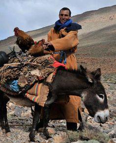 Transhumance et traversée de l'Atlas avec les nomades Aït Atta